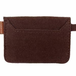 Mini Kinder-Portemonnaie Geldbörse Geldtasche Damen Frauen braun Bild 7