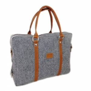 """Edle Handtasche Dokumententasche Aktentasche Handtasche Filztasche für MacBook 13,3"""" Laptop-Tasche Herren Damen mit  Bild 1"""