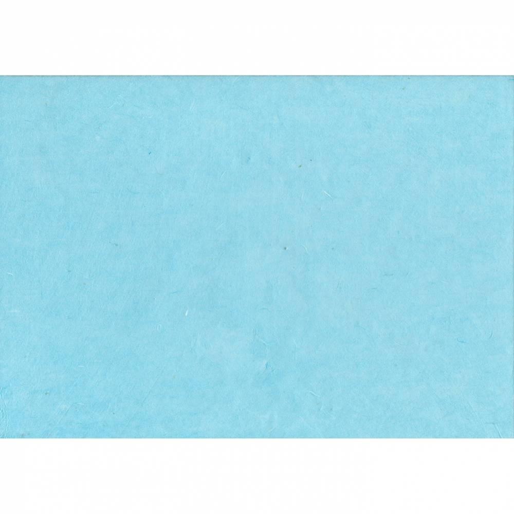Hanji Papier hellblau Bild 1