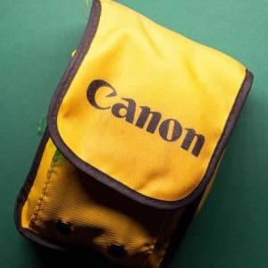 Canon AS-6    35mm-Kamera   FILMTESTED   guter Zustand   schwarz-orange   Unterwasserkamera Bild 5
