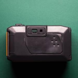 Canon AS-6    35mm-Kamera   FILMTESTED   guter Zustand   schwarz-orange   Unterwasserkamera Bild 9