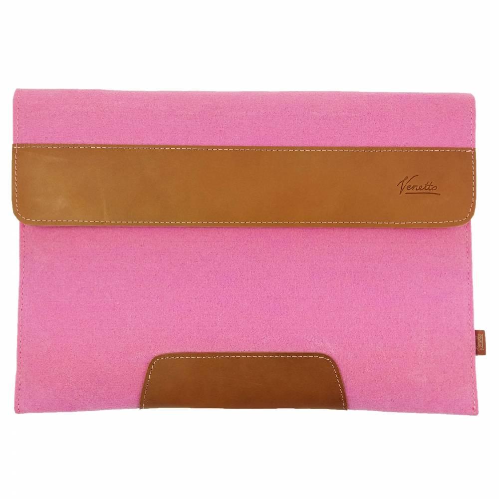 Für 13 Zoll MacBook Pro Tasche Schutzhülle Hülle Filztasche Tasche für MacBook Laptop Notebook aus Filz Pink Bild 1