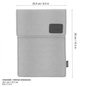 10.6 Tasche für Tablet eBook iPad Samsung Book Case Etui aus Filz  Schutzhülle Schutztasche Rot Bild 2