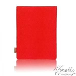 10.6 Tasche für Tablet eBook iPad Samsung Book Case Etui aus Filz  Schutzhülle Schutztasche Rot Bild 3