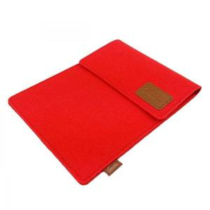 10.6 Tasche für Tablet eBook iPad Samsung Book Case Etui aus Filz  Schutzhülle Schutztasche Rot Bild 4