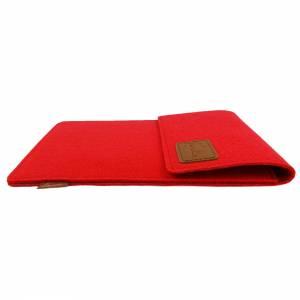 10.6 Tasche für Tablet eBook iPad Samsung Book Case Etui aus Filz  Schutzhülle Schutztasche Rot Bild 5