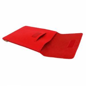 10.6 Tasche für Tablet eBook iPad Samsung Book Case Etui aus Filz  Schutzhülle Schutztasche Rot Bild 7