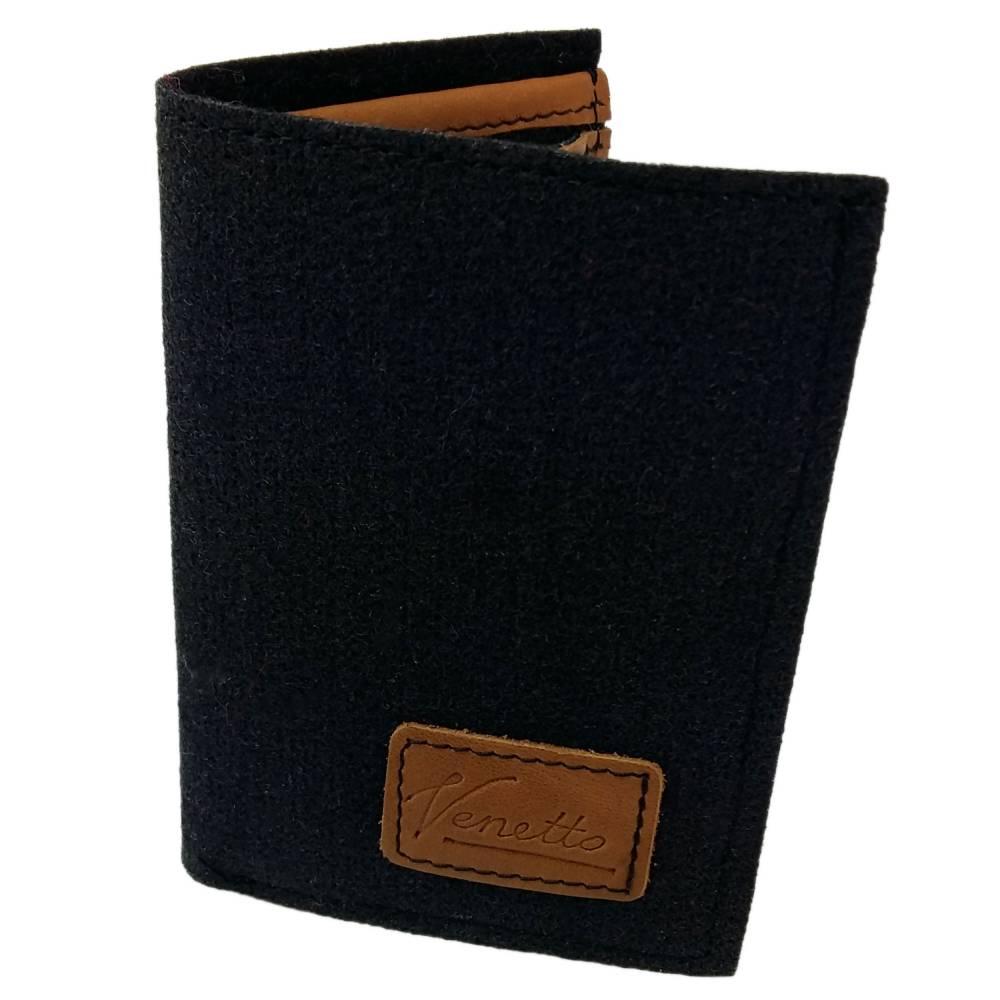 Portemonnaie Geldbörse Geldtasche wallet schwarz Bild 1