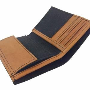 Portemonnaie Geldbörse Geldtasche wallet schwarz Bild 3
