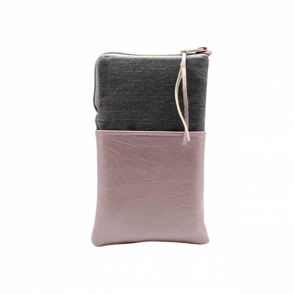 Handytasche - einzigartige, praktische und modische  Smartphonetasche mit vielseitigen Verwendungsmöglichkeiten Bild 1