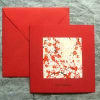 Minimalistische Geburtstagskarte Blütenzauber Bild 1