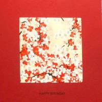 Minimalistische Geburtstagskarte Blütenzauber Bild 2
