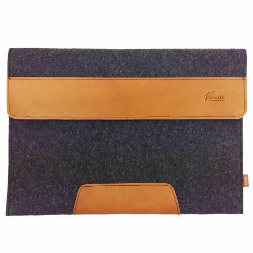 "Für 13"" Surface MacBook 13 Zoll Laptop Tasche Schutzhülle Filztasche Laptoptasche 13,3 Zoll Hülle Notebook schwarz"