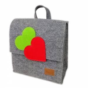 2 x Venetto Kinder Rucksack Tasche aus Filz unisex handgemacht Ranzer Tornister Schulranzen (Klein und Groß) Bild 2