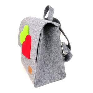 2 x Venetto Kinder Rucksack Tasche aus Filz unisex handgemacht Ranzer Tornister Schulranzen (Klein und Groß) Bild 3