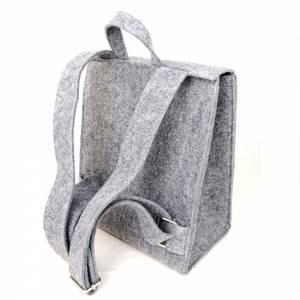 2 x Venetto Kinder Rucksack Tasche aus Filz unisex handgemacht Ranzer Tornister Schulranzen (Klein und Groß) Bild 6