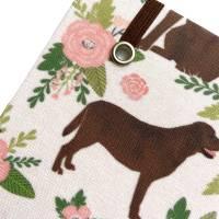 "Notizbuch Kladde Hardcover A5 Motiv ""Cute Labrador"" Blanko 80gPapier Labrador Fan Geschenk Bild 4"