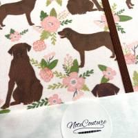 "Notizbuch Kladde Hardcover A5 Motiv ""Cute Labrador"" Blanko 80gPapier Labrador Fan Geschenk Bild 6"
