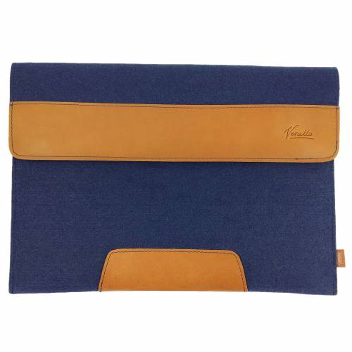 """15,4 Zoll Hülle Schutztasche Filztasche Leder-Tasche Laptoptasche für Acer MacBook Pro 15, MacBook Pro 16 """" Asus HP"""