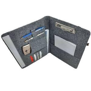 "13,3"" Organizer Hülle aus Filz Filztasche Filzhülle Schutzhülle Schutztasche für iPad Pro MacBook Air, Grau Bild 1"