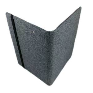 "13,3"" Organizer Hülle aus Filz Filztasche Filzhülle Schutzhülle Schutztasche für iPad Pro MacBook Air, Grau Bild 2"