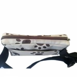 Leckerli-Tasche Gürteltasche Bauchtasche für Hunde, Hundetraining, Hundeleckerli, Hundefutter Leckerlitasche Hundetapsen Bild 6