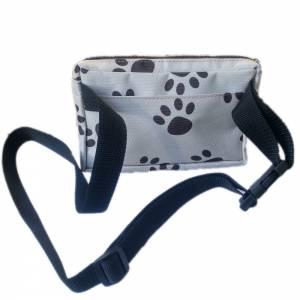 Leckerli-Tasche Gürteltasche Bauchtasche für Hunde, Hundetraining, Hundeleckerli, Hundefutter Leckerlitasche Hundetapsen Bild 7
