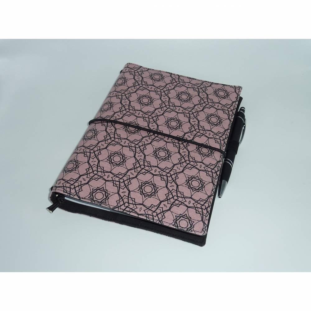 Travelers Notebook A5 Planer Rosa Tagebuch Kalender Notizheft Hülle Bild 1