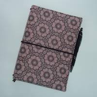 Travelers Notebook A5 Planer Rosa Tagebuch Kalender Notizheft Hülle Bild 3