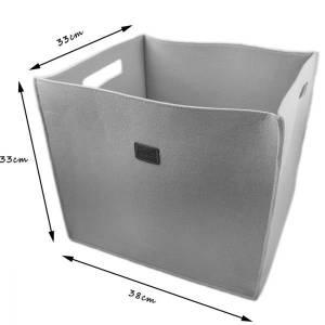 3-er Set Box Filzbox Keller-Regal Filz Aufbewahren rosa pink Bild 2