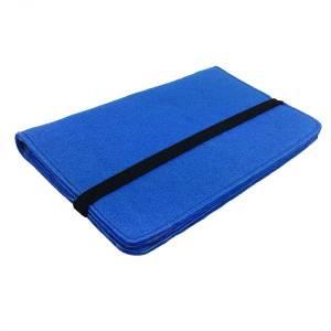 7 Zoll Tablethülle Etui Filztasche Buchhülle Schutzhülle für ebook Tablet blau Bild 3