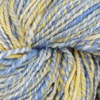 """Handgesponnenes Garn """"Blaumeise"""" 100g/12€ Bild 4"""
