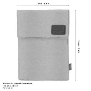 Tasche für eBook Reader Schutzhülle Hülle aus Filz Sleeve Case für Kindle, Paperwhite, Oasis, Voyager und anderen 6 Zoll Bild 2