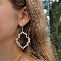 "Ohrringe ""Silberhauch"" Bild 2"