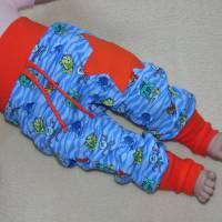 Baby Hose Fische Gr 68 Bild 1