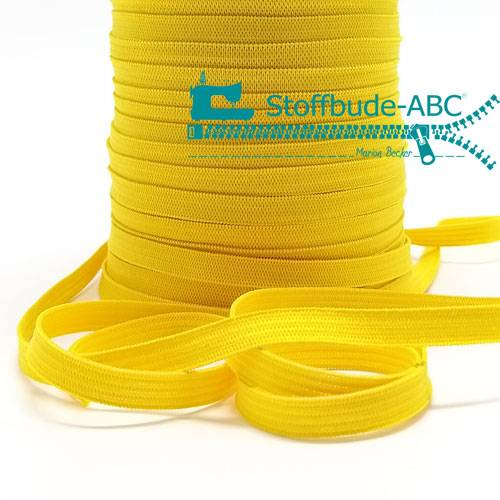 3 Meter Gummiband 7 mm gelb Bild 1