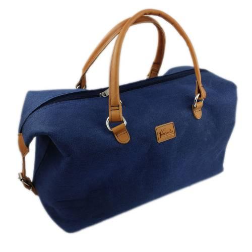 Handgepäck-Tasche Weekender Handtasche Reisetasche für Flugzeug Flugtasche Tasche für Herren und Damen, blau