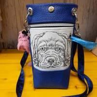 Gassibag Umhängetasche Labrador ,Hundetütchen Hundetasche ,unikat Handmade , Geschenk Hundefreund Bild 1