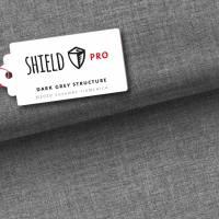 0,5m Albstoffe Shield Pro Dark Grey Uni Structure Bild 1