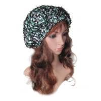 Damen Beanie Mütze *Wintermorgen* gehäkelte Handarbeit für Größe M 55/56 cm Kopfumfang Bild 1