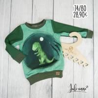 Pullover - Langarmshirt Mamasliebchen Dino T-Rex 74/80 Bild 1