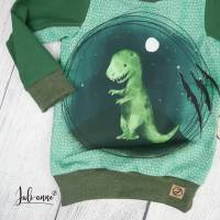 Pullover - Langarmshirt Mamasliebchen Dino T-Rex 74/80 Bild 3