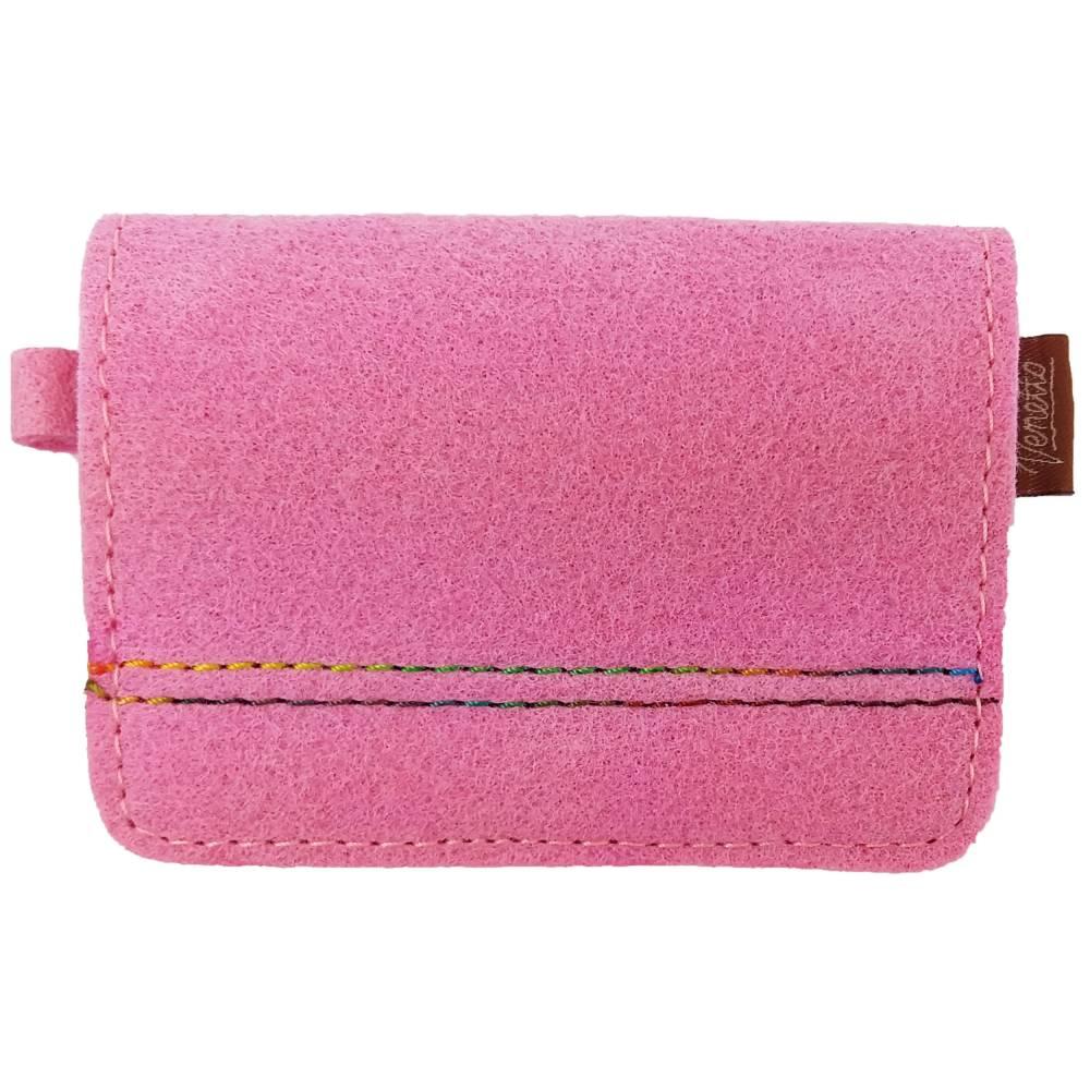 Portemonnaie Damenbörse Geldtasche Tasche Pink Bild 1