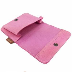 Portemonnaie Damenbörse Geldtasche Tasche Pink Bild 3