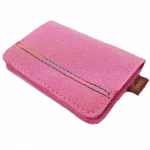 Portemonnaie Damenbörse Geldtasche Tasche Pink Bild 6