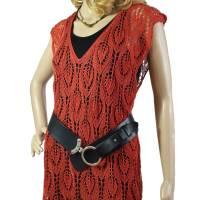 Lace-Tunika Mini-Kleid Unikat handgestrickt Bild 1