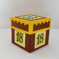 Geldgeschenk zum 18. Geburtstag Überraschungsbox mit Auto Geschenk Verpackung Bild 4