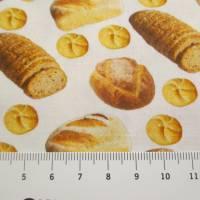 Baumwolle Baumwollstoff Popeline Swafing Kim Brot weiß  Oeko-Tex® Standard 100 (1m/ 9,-€)  Bild 2