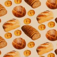 Baumwolle Baumwollstoff Popeline Swafing Kim Brot weiß  Oeko-Tex® Standard 100 (1m/ 9,-€)  Bild 3