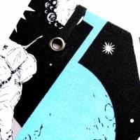 """Notizbuch """"Astronaut"""" 17,5 x 23 cm (ähnlich A5) stoffbezogen Weltraumfahrer Astronaut Planeten Universum Comic Bild 4"""